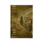 The Zombie (Distressed) Rectangle Magnet (10 pack)