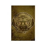The Zombie (Distressed) Rectangle Magnet