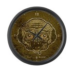 The Zombie (Distressed) Large Wall Clock