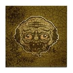 The Zombie (Distressed) Tile Coaster