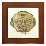 The Zombie (Distressed) Framed Tile