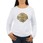 The Zombie (Distressed) Women's Long Sleeve T-Shir