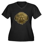 The Zombie (Distressed) Women's Plus Size V-Neck D