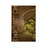 The Witch (Distressed) Rectangle Magnet (100 pack)
