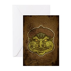 The Witch (Distressed) Greeting Cards (Pk of 20)