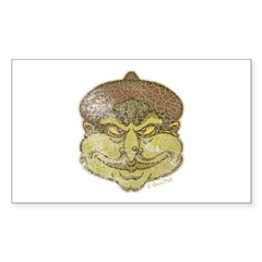 The Witch (Distressed) Sticker (Rectangle 10 pk)