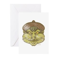 The Witch (Distressed) Greeting Cards (Pk of 10)
