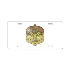 The Witch (Distressed) Aluminum License Plate