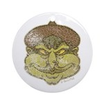 The Witch (Distressed) Ornament (Round)