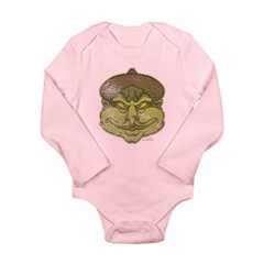 The Witch (Distressed) Long Sleeve Infant Bodysuit