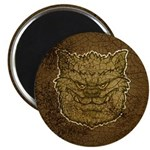 The Werewolf (Gray) (Distressed) Magnet
