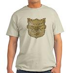 The Werewolf (Gray) (Distressed) Light T-Shirt