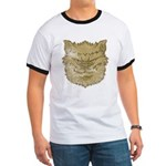 The Werewolf (Gray) (Distressed) Ringer T