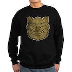 The Werewolf (Gray) (Distressed) Sweatshirt (dark)