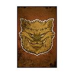 The Werewolf (Brown) (Distressed) Mini Poster Prin