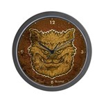 The Werewolf (Brown) (Distressed) Wall Clock