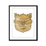The Werewolf (Brown) (Distressed) Framed Panel Pri