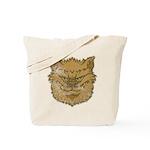The Werewolf (Brown) (Distressed) Tote Bag