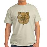The Werewolf (Brown) (Distressed) Light T-Shirt