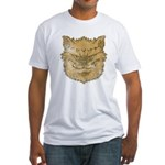 The Werewolf (Brown) (Distressed) Fitted T-Shirt