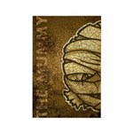 The Mummy (Distressed) Rectangle Magnet (100 pack)