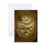The Mummy (Distressed) Greeting Card