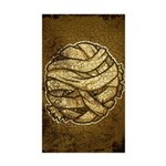 The Mummy (Distressed) Sticker (Rectangle 10 pk)