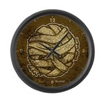 The Mummy (Distressed) Large Wall Clock