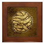 The Mummy (Distressed) Framed Tile