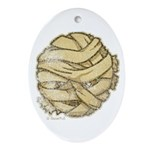 The Mummy (Distressed) Ornament (Oval)