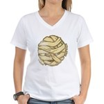 The Mummy (Distressed) Women's V-Neck T-Shirt