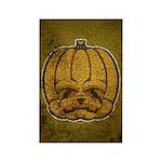 Jack-O'-Lantern (Distressed) Rectangle Magnet