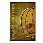 Jack-O'-Lantern (Distressed) Postcards (Package of