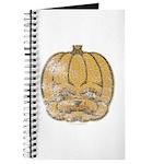 Jack-O'-Lantern (Distressed) Journal