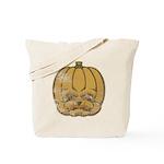Jack-O'-Lantern (Distressed) Tote Bag