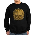Jack-O'-Lantern (Distressed) Sweatshirt (dark)