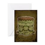 Frankenstein's Monster (Distressed) Greeting Card