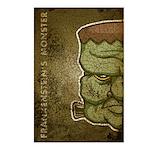 Frankenstein's Monster (Distressed) Postcards (Pac