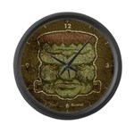 Frankenstein's Monster (Distressed) Large Wall Clo