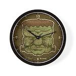 Frankenstein's Monster (Distressed) Wall Clock