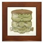 Frankenstein's Monster (Distressed) Framed Tile