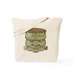 Frankenstein's Monster (Distressed) Tote Bag