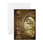 Dracula (Distressed) Greeting Cards (Pk of 10)