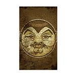 Dracula (Distressed) Sticker (Rectangle 50 pk)