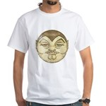 Dracula (Distressed) White T-Shirt