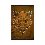 El Diablo (Distressed) Rectangle Magnet (10 pack)