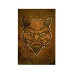 El Diablo (Distressed) Rectangle Magnet (10 pack)