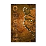 El Diablo (Distressed) Mini Poster Print