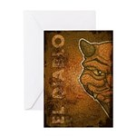 El Diablo (Distressed) Greeting Card