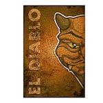 El Diablo (Distressed) Postcards (Package of 8)